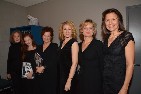 Charlotte Moore, Andrea Lynn Green, Cynthia Darlow, Margaret Loesser Robinson, Martha Plimpton and Jennifer Van Dyck