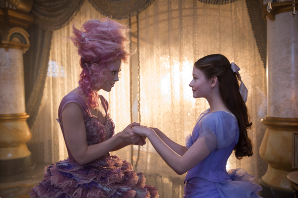 Keira Knightley is the Sugar Plum Fairy and Mackenzie Foy is Clara in THE NUTCRACKER  Photo