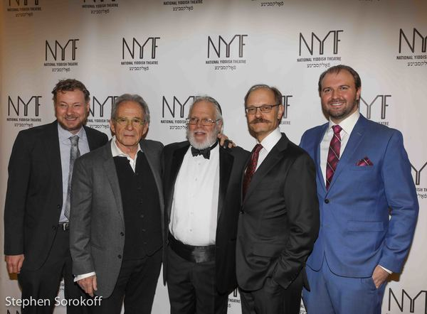 Motl Didner, RonRifkin, Zalmen Mlotek, David Hyde Pierce, Chris Massimine Photo
