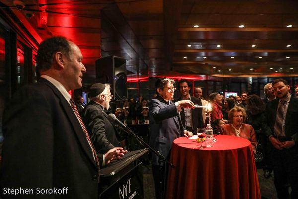Photo Coverage: Jerry Zaks Honored by National Yiddish Theater Folksbeine
