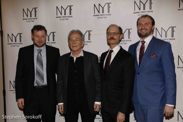 Motl Didner, Ron Rifkin, David Hyde Pierce, Chris Massimine