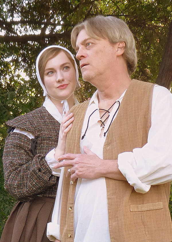 Caitlin Barry and Harold Dershimer