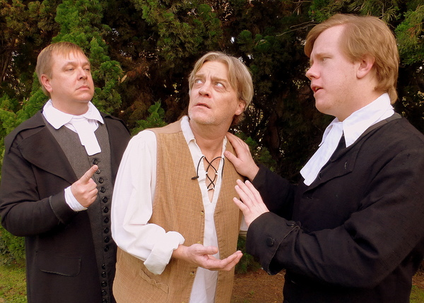 Daniel Kruger, Harold Dershimer and Brad Halvorsen Photo