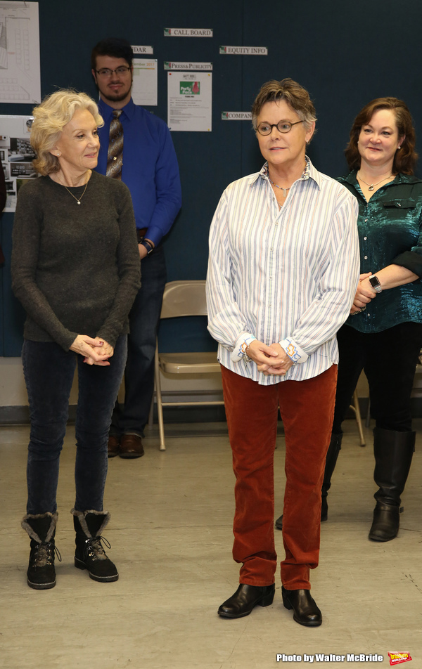 Photo Coverage: Go Inside Rehearsals for PARTY FACE with Hayley Mills!