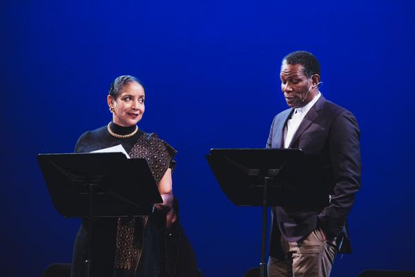 Phylicia Rashad and John Douglas Thompson