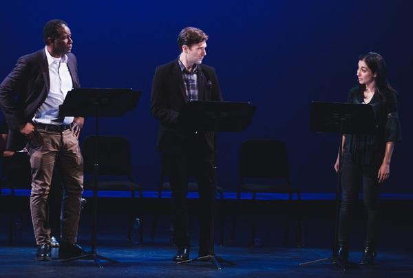 John Douglas Thompson, Jacob Fishel, and Nikki Massoud