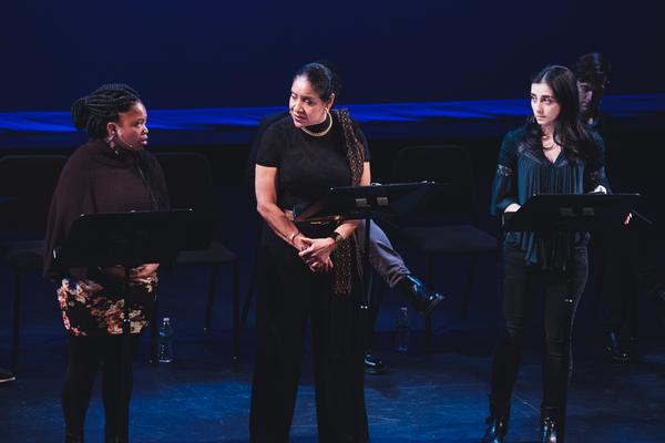 Phumzile Sitole, Phylicia Rashad, and Nikki Massoud  Photo