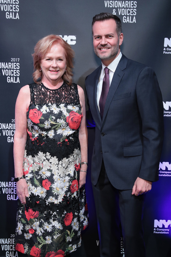 NEW YORK, NY - DECEMBER 18:  Susan Ungaro of James Beard Foundation and Fred Dixon of NYC & Company attend the NYC & Company Foundation Visionaries & Voices Gala 2017 on December 18, 2017 in New York City.  (Photo by Cindy Ord/Getty Images for NY & Compan