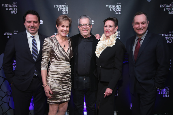 NEW YORK, NY - DECEMBER 18:  (L-R) William Pennell, Lisa Truitt, David Kahne, Christine Kurtz, and Alexander Svezia attend NYC & Company Foundation Visionaries & Voices Gala 2017 on December 18, 2017 in New York City.  (Photo by Cindy Ord/Getty Images for