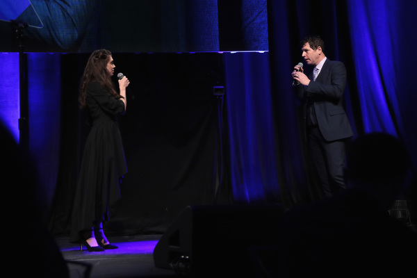 NEW YORK, NY - DECEMBER 18:  Kelly Ann Voorhees and James Barbour perform  Phantom of Photo