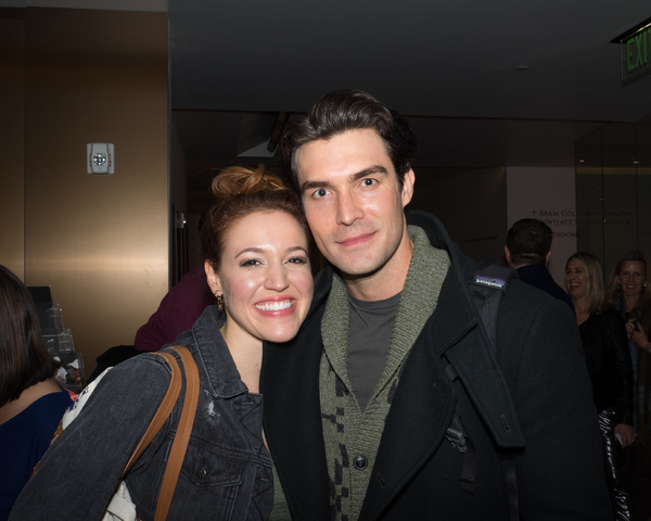 Olivia Harris and Peter Porte