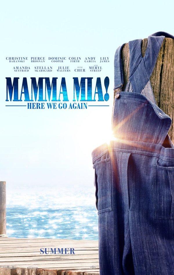 Resultado de imagem para mamma mia 2 poster