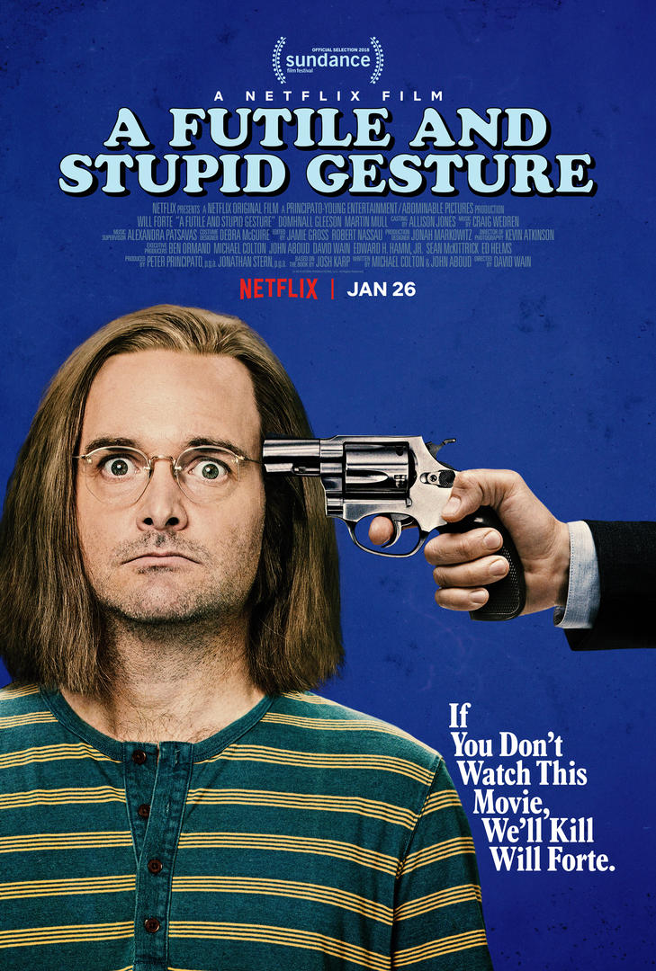 VIDEO: Sneak Peek - Will Forte & More in Netflix's A FUTILE AND STUPID GESTURE
