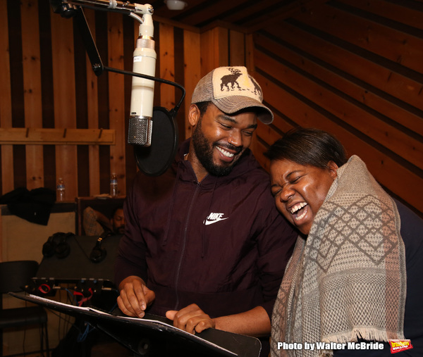 Photo Coverage: The Cast of ONCE ON THIS ISLAND Records Cast Album!