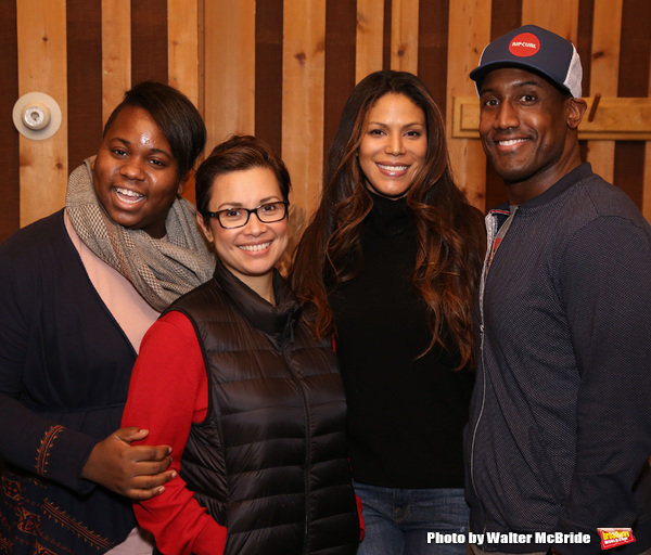 Alex Newell, Lea Salonga, Merle Dandridge, and Quentin Earl Darrington