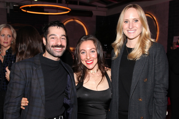 Jesse Kovarsky, Alison Swibel, Kim Lachman photo by R.Cole for Rob Rich/SocietyAllure.com ©2017 robrich101@gmail.com 516-676-3939