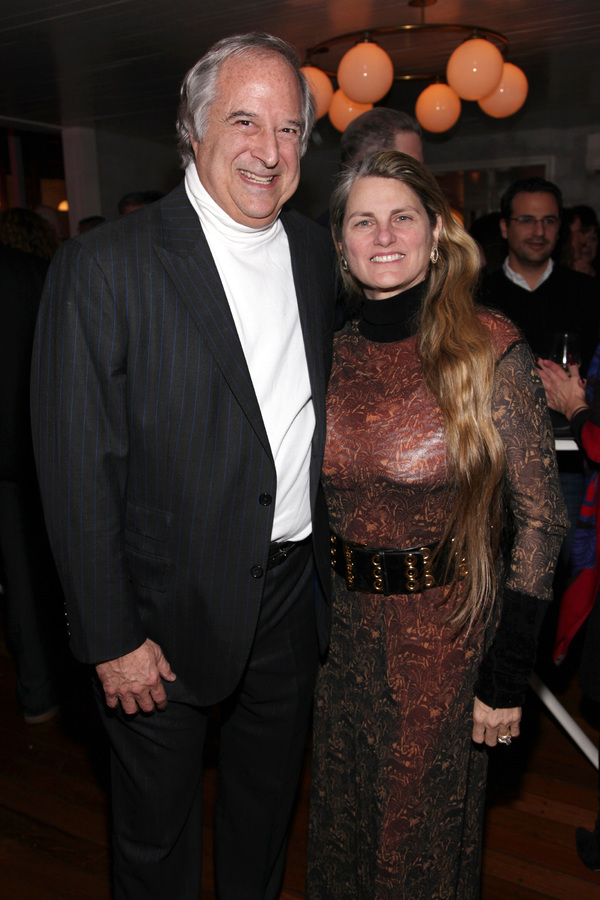 Stewart F. Lane, Bonnie Comley photo by R.Cole for Rob Rich/SocietyAllure.com ©2017 robrich101@gmail.com 516-676-3939