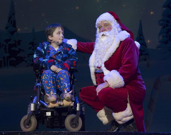 Dan Mclellan (William Trundle) & Santa Claus