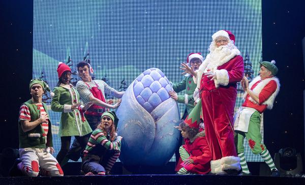 Santa Claus and Ensemble
