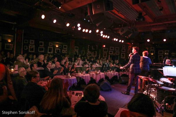 Photo Coverage: Christmas Has Some New Sounds At Birdland - Blackhurst, Caruso and Stritch