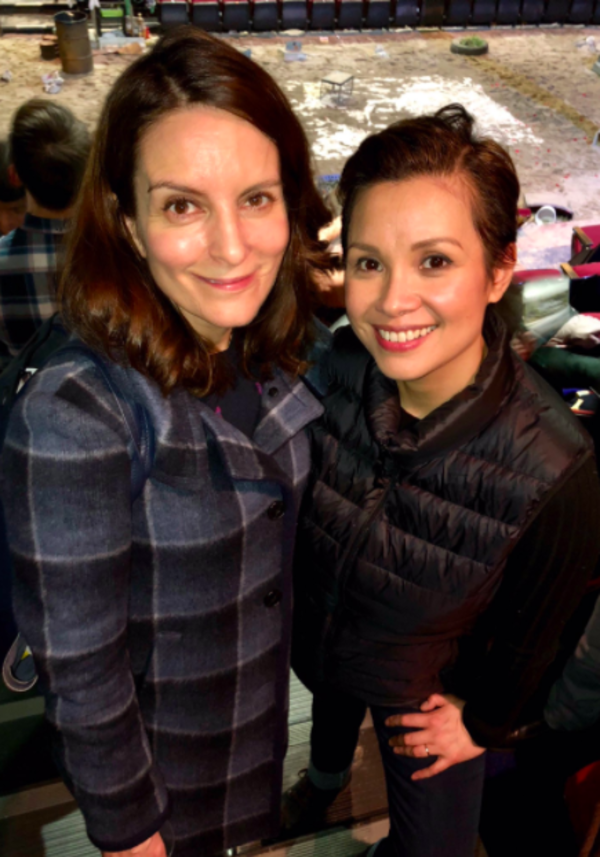 Photo Flash: Tina Fey, Brian d'Arcy James, and More Visit ONCE ON THIS ISLAND