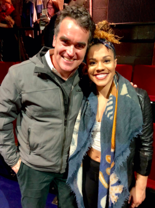Brian d'Arcy James visits Once on this Island