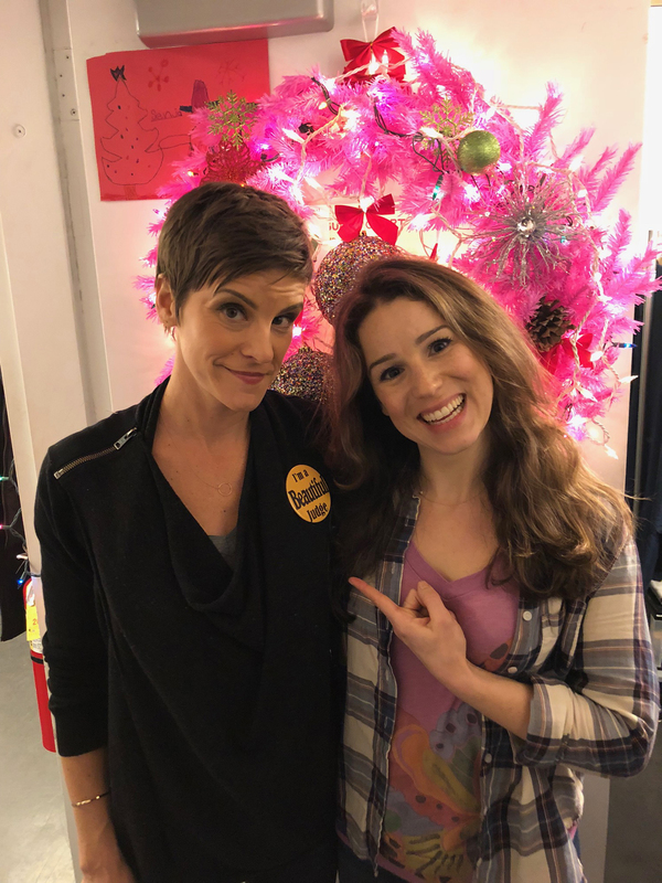 """Come From Away's� Jenn Colella and Chilina Kennedy"
