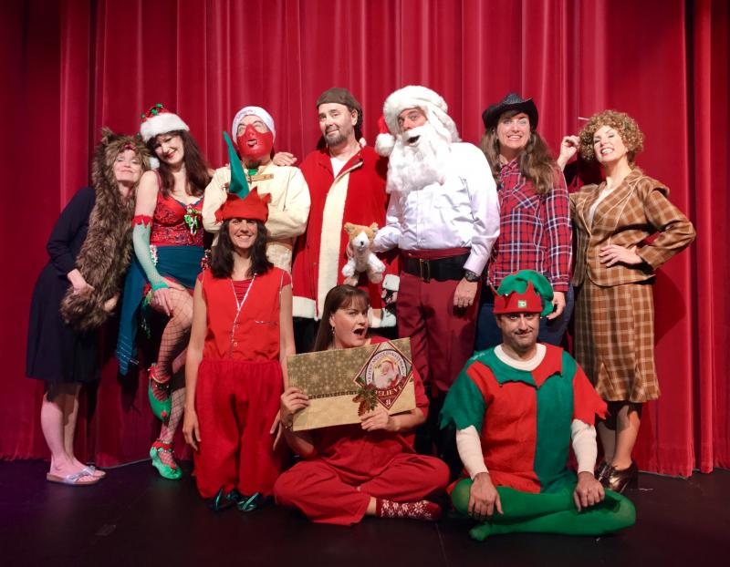 BWW Review: THEATREONE DEBUTS A NAUGHTY AND NICE CHRISTMAS TREAT at Catherine Hickman Theatre