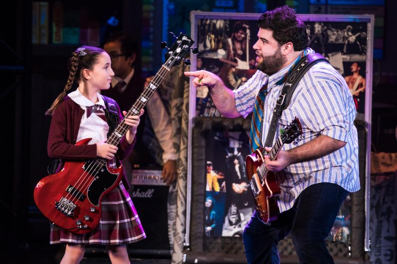 BWW Review: Shaking That Post-Holiday Slump with SCHOOL OF ROCK