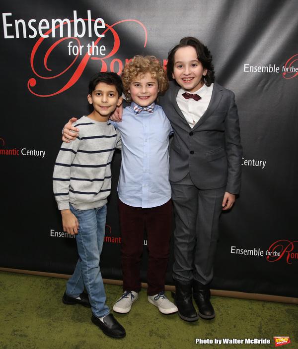 Shiv Ajay, Avey Noble and Peyton Lusk