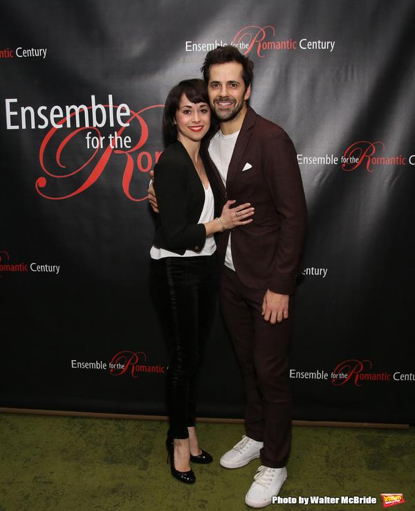 Sara Esty and Robert Fairchild