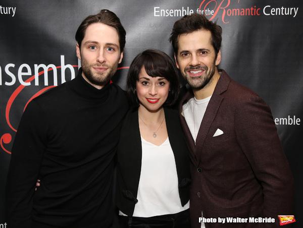 Daniel Rowan, Sarah Esty and Robert Fairchild