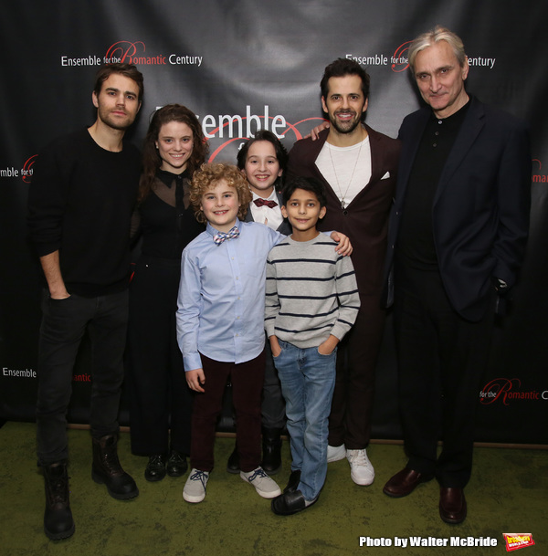 Paul Wesley, Mia Vallet, Avey Noble, Peyton Lusk, Shiv Ajay, Robert Fairchild and Roc Photo