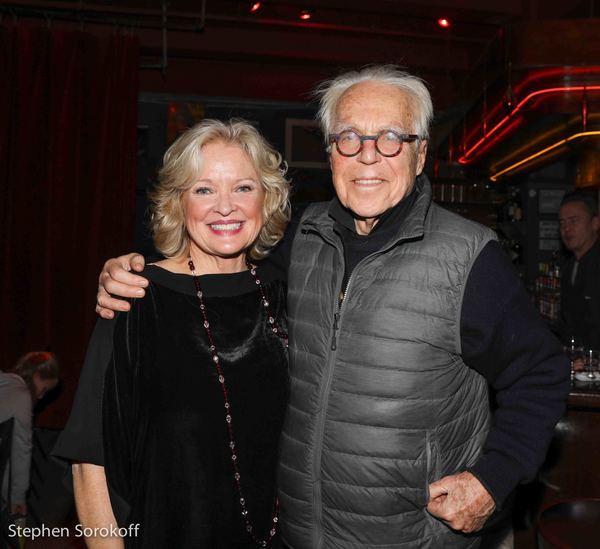 Christine Ebersole & John Guare Photo