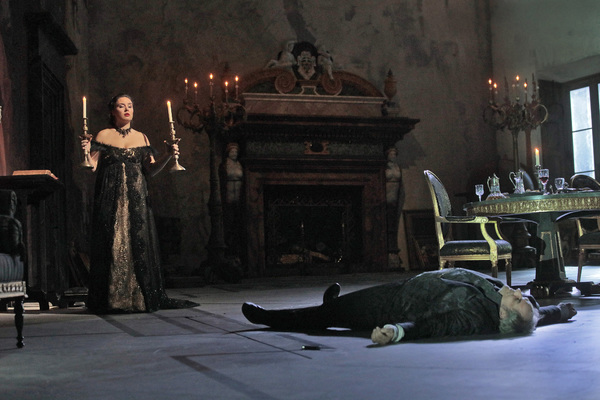 Photo Flash: TOSCA Lives for Her Art at the Met