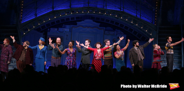 Broadway Opening Night Performance Curtain Call for 'Amelie' at the Walter Kerr Theatre on April 3, 2017 in New York City