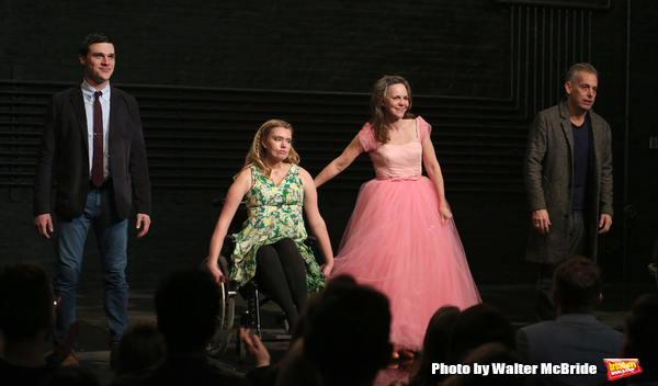 Finn Wittrock, Madison Ferris, Sally Field and Joe Mantello during the Broadway Openi Photo