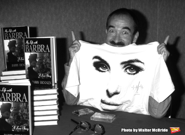 Barry Dennen attends a Barbra Streisand Fan Trade Show on August 11, 1997 in New York City.