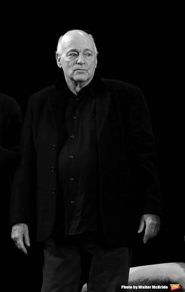Playwright Bernard Pomerance during the Broadway Opening Night Performance Curtain Ca Photo