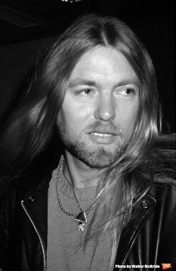 Gregg Allman at the NBC Building on January 25, 1982 in New York City. Photo