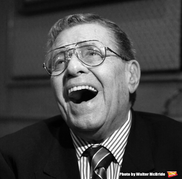 Jerry Lewis - Abbott of the Friars Club - receives a Lifetime Achievement Award from  Photo