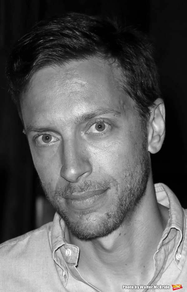 Michael Friedman attending the 15th Anniversary for Page 73 Productions at City Winery in New York City on May 22, 2013.