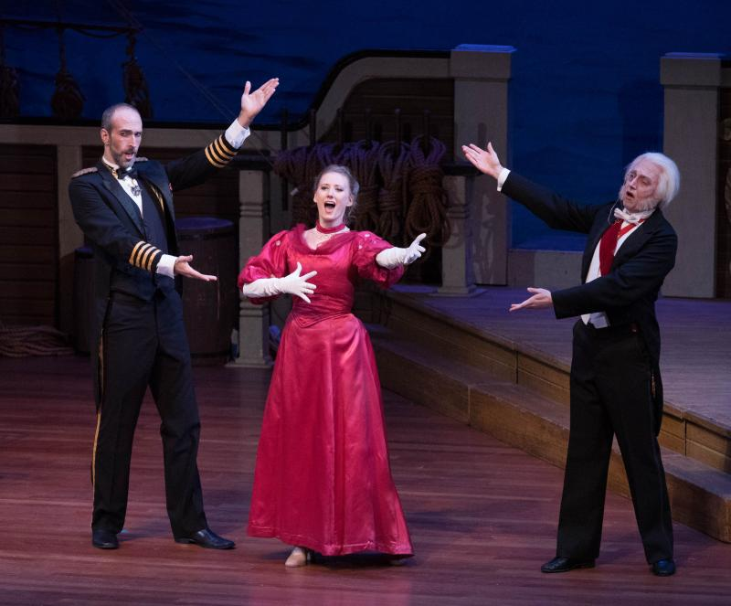 BWW Review:  NYGASP Delights Aboard Gilbert & Sullivan's Love Boat, H.M.S. PINAFORE