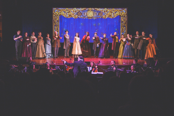 Photo Flash: Production Photos Released from THE SORCERESS, Now Closed Off-Broadway