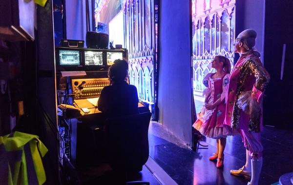 Cinderella - Birmingham Hippodrome. 27 December 2017. Pictured is 'Cinderella'  Suzanne Shaw with 'Dandini' Gary Watson. Picture by Simon Hadley. Simon Hadley Photography. 07774 193699 mail@simonhadley.co.uk www.simonhadley.co.uk