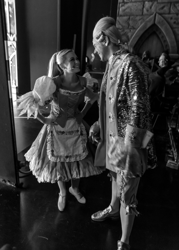 Cinderella - Birmingham Hippodrome. 27 December 2017. Pictured is 'Cinderella'  Suzanne Shaw with 'Dandini' Gary Watson. Picture by Simon Hadley. Simon Hadley Photography. 07774 193699 mail@simonhadley.co.uk www.simonhadley.co.uk