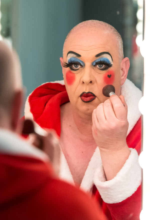 Cinderella - Birmingham Hippodrome. 27 December 2017. Pictured is David Dale who plays Ugly Sister 'Verruca'. Picture by Simon Hadley. Simon Hadley Photography. 07774 193699 mail@simonhadley.co.uk www.simonhadley.co.uk