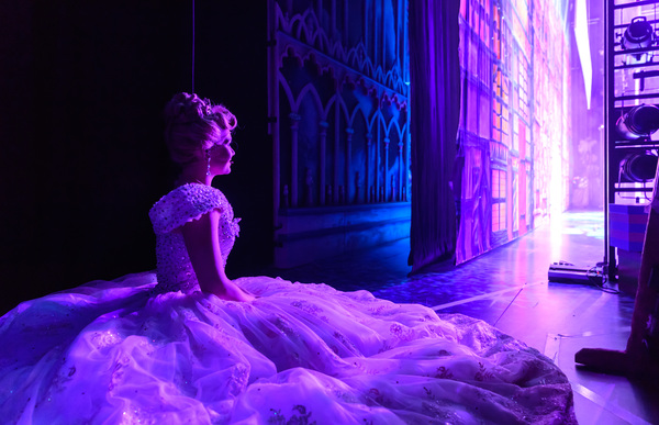 Cinderella - Birmingham Hippodrome. 27 December 2017. Pictured is 'Cinderella'  Suzanne Shaw. Picture by Simon Hadley. Simon Hadley Photography. 07774 193699 mail@simonhadley.co.uk www.simonhadley.co.uk