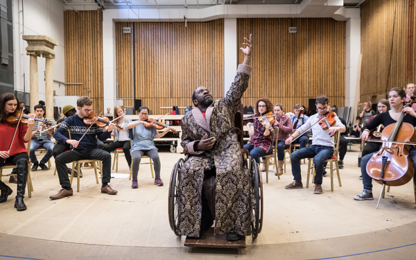 Photo Flash: Inside Rehearsals for AMADEUS at the National Theatre