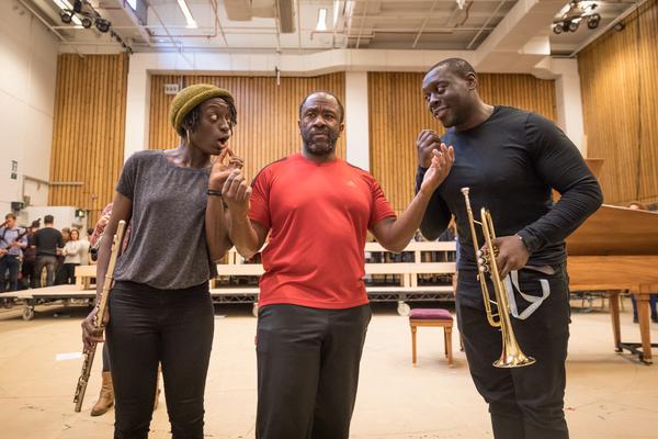 Sarah Mankwah, Lucian Msamati, Ekow Quartey Photo